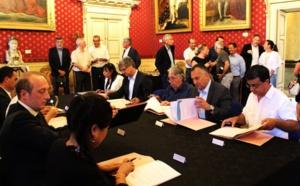 """Signature de la convention """"Action Coeur de ville"""""""