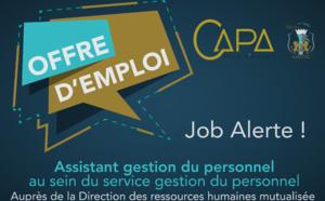 Offre d'emploi : Assistant gestion du personnel au sein du service gestion du personnel Auprès de la Direction des ressources humaines mutualisée