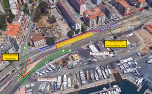 Travaux PRU des Cannes – Cours Jean Nicoli – Info circulation