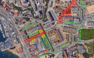 Travaux PRU CANNES – Info circulation Rue Jean Chiappe et rue Primevères