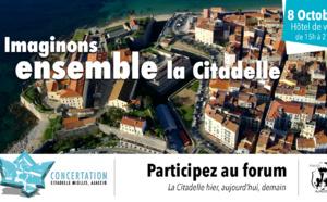 Concertation publique pour l'avenir de la Citadelle d'Ajaccio