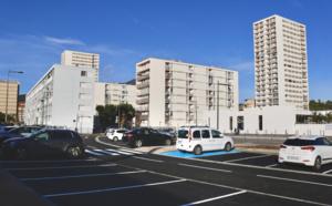 Un nouveau parking dans le quartier des Salines