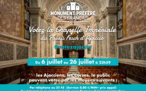 La chapelle Impériale en lice pour Le monument préféré des Français