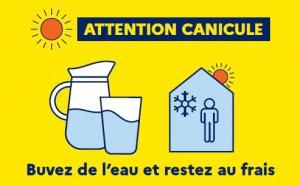 Canicule et fortes chaleurs : Préparez-vous, Protégez-vous !