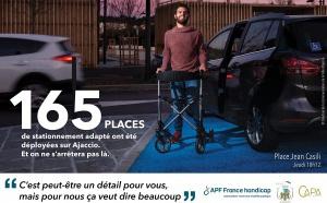 Bilan des actions pour l'accessibilité des personnes handicapées