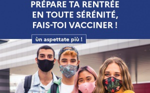 Prépare ta rentrée en toute sérénité, fais-toi vacciner !