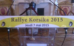 Jeudi 7 mai Réception des participants du Rallye Korsika 2015 Salon Napoléonien