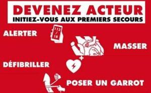 Opération « Il y a des gestes qui sauvent » : Devenez acteur – Initiez-vous aux premiers secours !