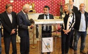 Remise de la médaille de la Ville au Docteur Louis Badetti