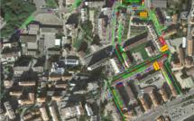 Travaux de requalification du quartier des Cannes, bloquage de la rue Peretti 7 août au 3 septembre