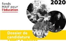 Le Fonds MAIF pour l'Education lance son APPEL A PROJETS 2020