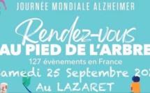 Journée Mondiale Alzheimer samedi 25 septembre