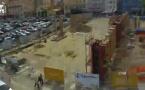 Le chantier de la halle Campinchi en Timelapse