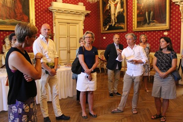 Rencontre avec un groupe de parlementaires Suédois Jeudi 25 août 2016