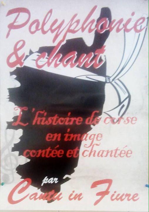 Concert Cantu in Fiure le 8 septembre 21h00 Eglise Saint Erasme
