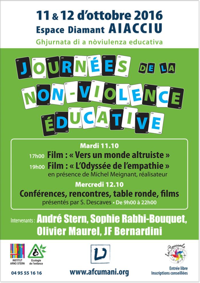 Journées de la non-violence éducative