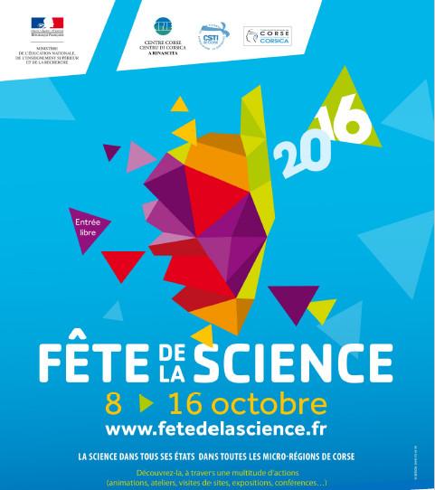 LA FÊTE DE LA SCIENCE DU 8 AU 16 OCTOBRE 2016