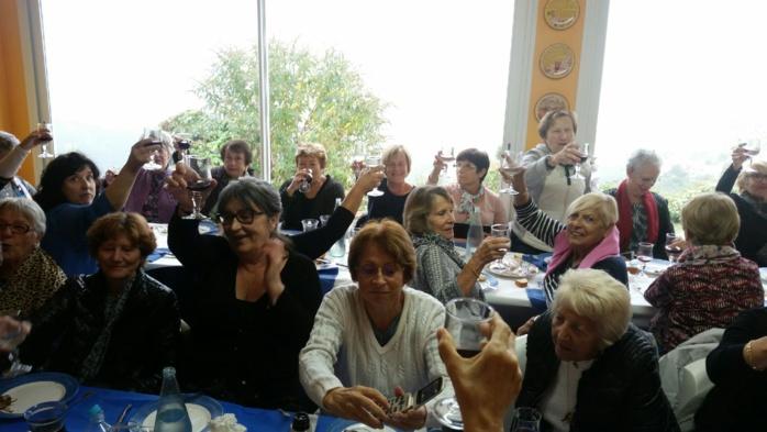 Le Centre Social des Salines et la Maison des Aînés en visite à Pancheraccia