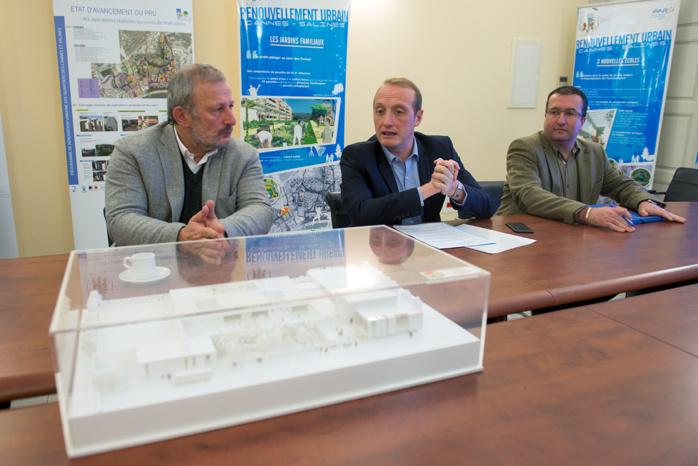François Puponi, encourage les projets urbains de la Ville