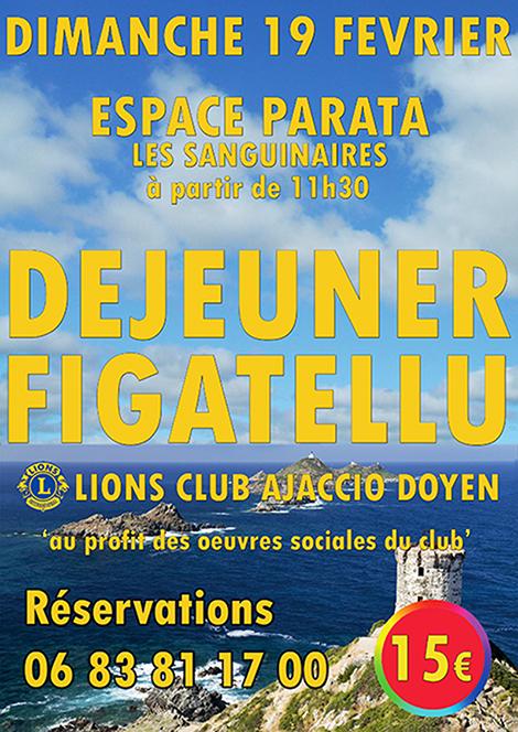 Déjeuner figatellu à la Parata avec le Lions Club Ajaccio Doyen