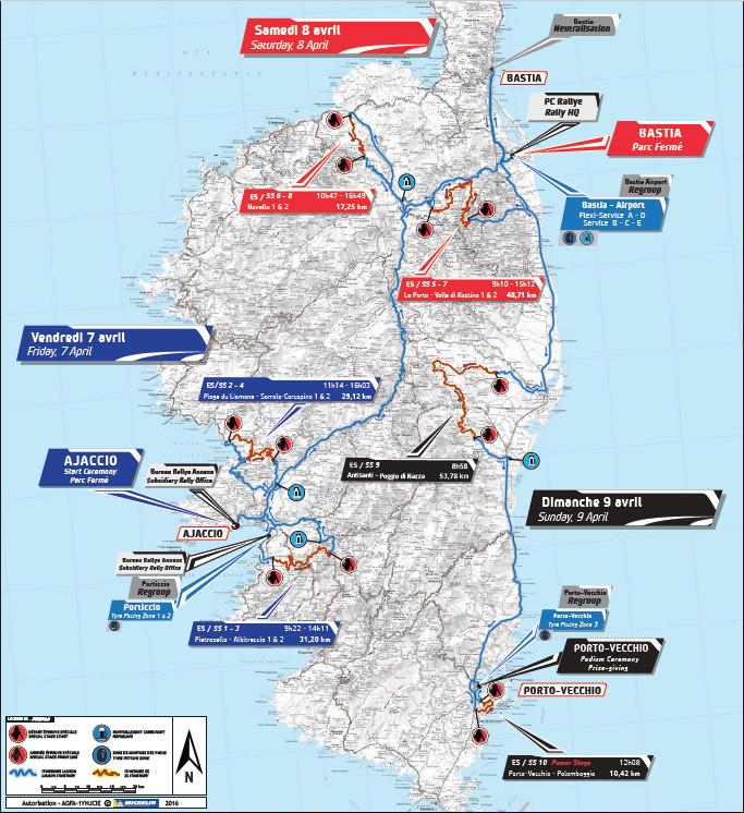 Ajaccio ville de départ du Che Guevara Energy Drink Tour de Corse 2017