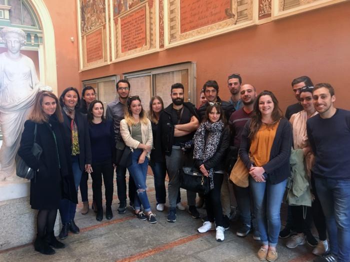 Les étudiants de l'Université de Corse à la rencontre de la Cité Impériale