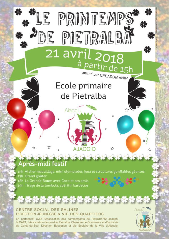 Le Printemps de Pietralba le samedi 21 avril