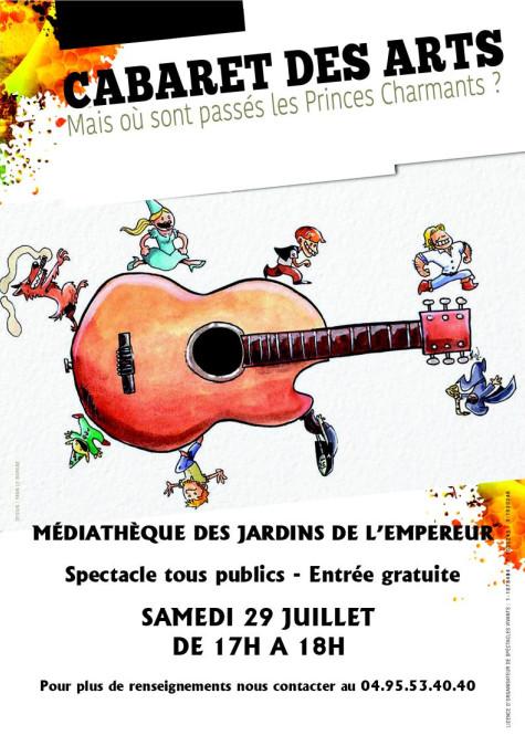 Un mois de juillet à la médiathèque des Jardins de l'Empereur