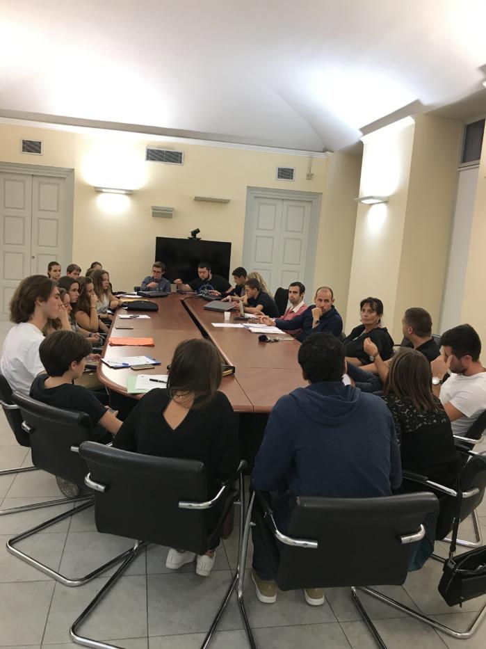 2ème séance de la rentrée pour le Conseil Municipal des Jeunes