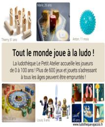 La Ludothèque Le Petit Atelier recherche un jeune volontaire ! Mission Service Civique.