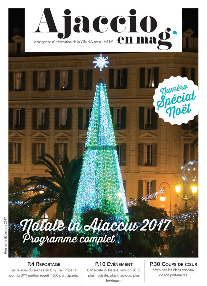 """Ajaccio en Mag , édition spéciale """"Natale"""" à feuilleter en ligne  !"""
