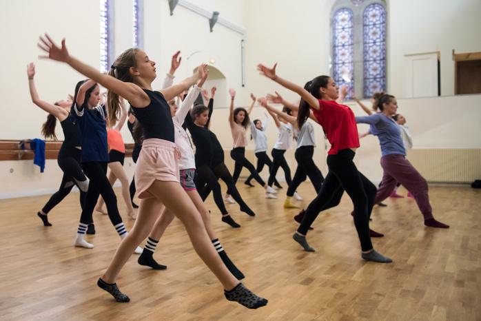 Un atelier de jazz dance inédit a été proposé deux jours durant par la Ville (Photos Ville d'Ajaccio).