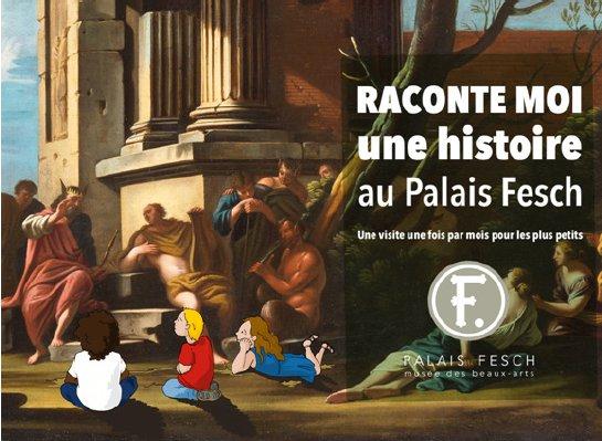 Visite en famille : Raconte-moi une histoire au Palais Fesch