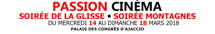 Festival Passion Cinéma, Soirée de la glisse & Soirée Montagnes du 14 au 18 mars au palais des congrès