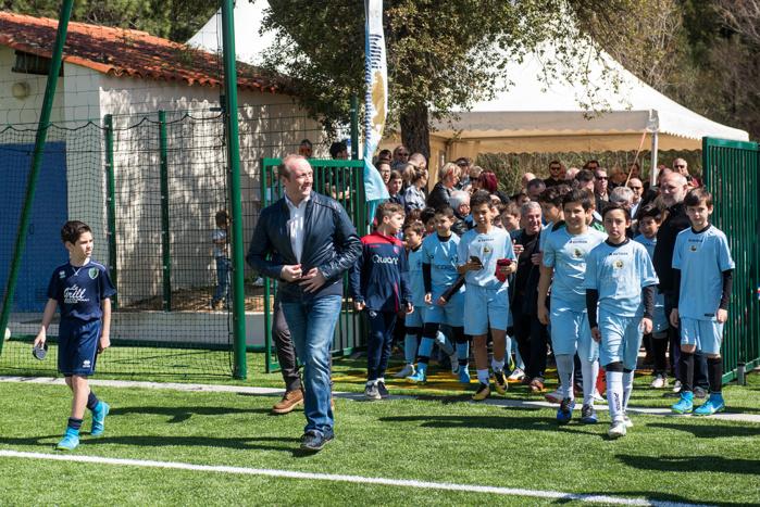 Inauguration du stade Pierre Cahuzac