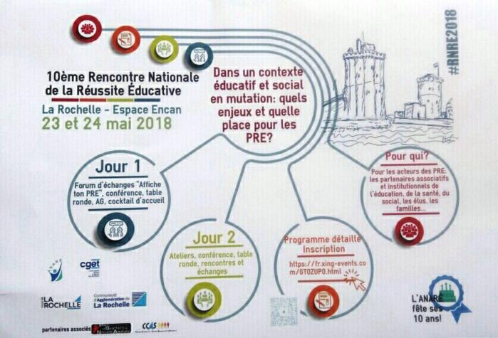 Le Dispositif de Réussite Educative d'Ajaccio présent aux rencontres nationales de la réussite éducative à la Rochelle