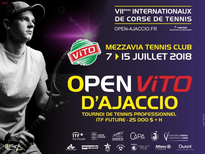 Open de Tennis d'Ajaccio 7-15 juillet