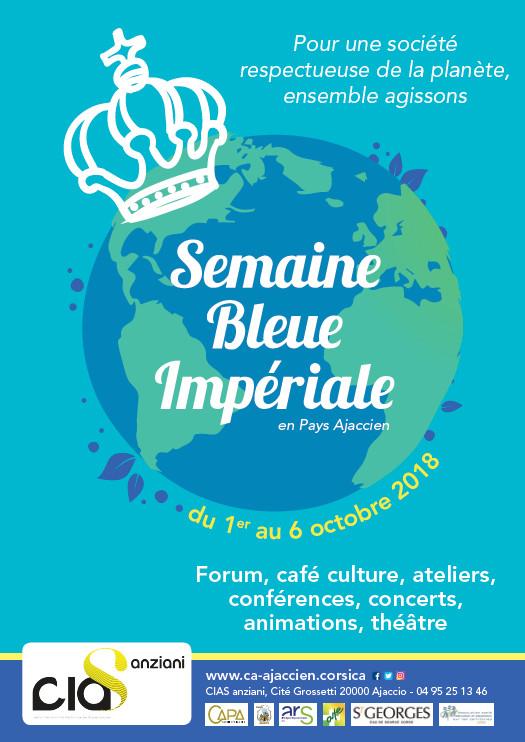 La Semaine Bleue Impériale 2018 du 1er au 6 octobre Cité Grossetti