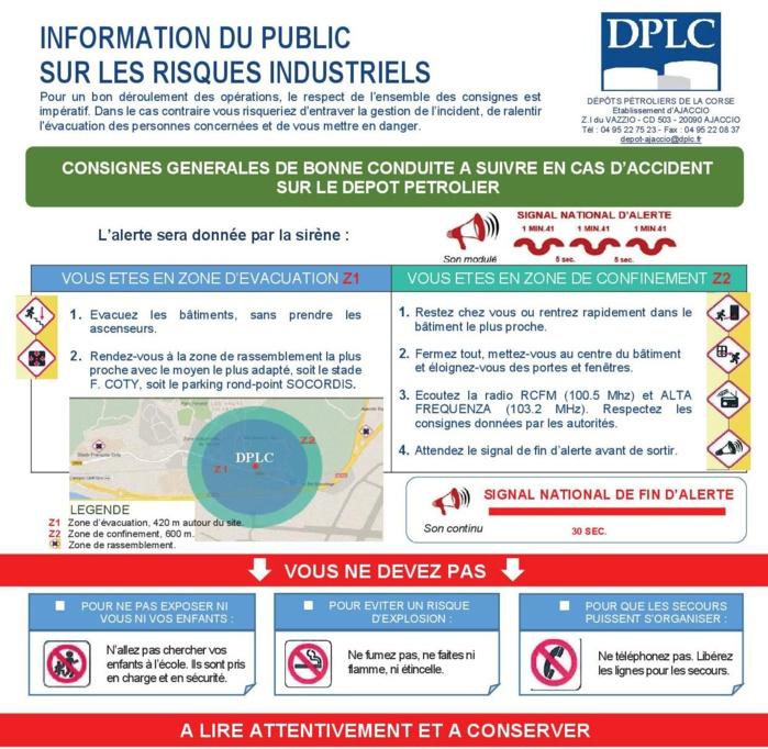 Information au public sur les risques industriels