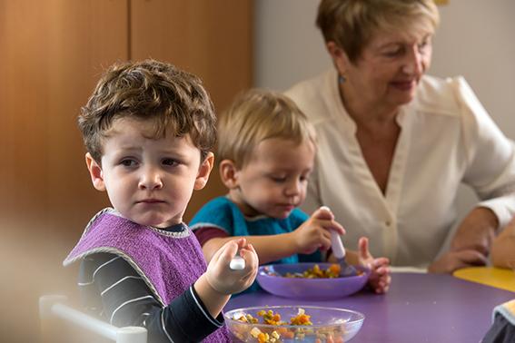 Semaine Nutrition Santé dans les crèches