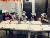 Troisième atelier de pâtisserie à la cuisine municipale de l'Ingurdelli !