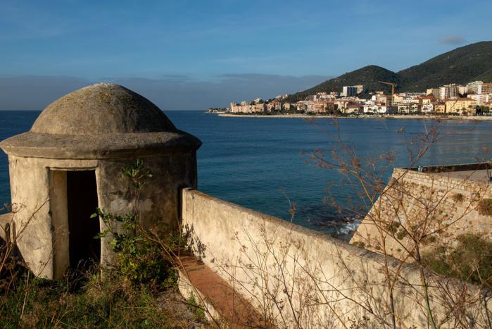 Vue imprenable depuis l'échauguette de la citadelle (Photos Ville d'Ajaccio).