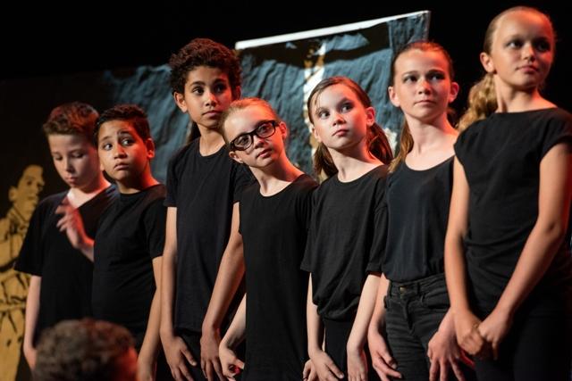 Les élèves de l'école Sampiero sur les planches