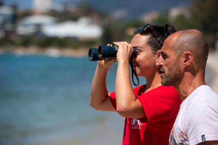 Le directeur des Sports de la Ville d'Ajaccio, Marc Leca, effectue des visites régulières des sept postes de secours.