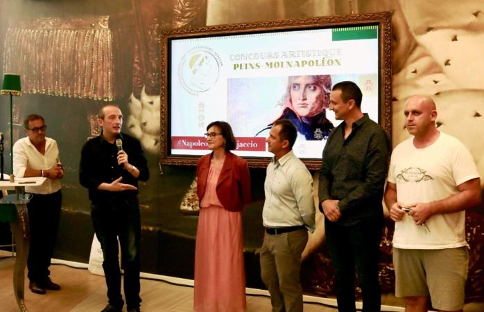Cérémonie de remise des prix du concours « Peins-moi Napoléon »