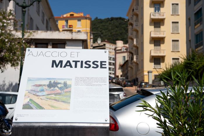 """Le célèbre """"Mur rose"""" de Matisse  retrouve son lieu d'inspiration"""
