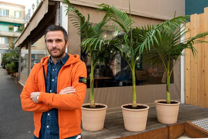 Matieu Gontier a ouvert son restaurant en mars 2019 (Photo Ville d'Ajaccio).