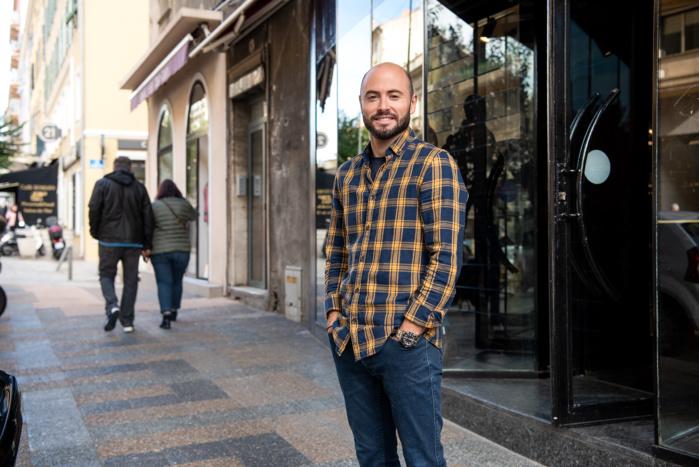 Mathieu Sicaud a ouvert l'enseigne Primadonna en juin dernier (Photo Ville d'Ajaccio).