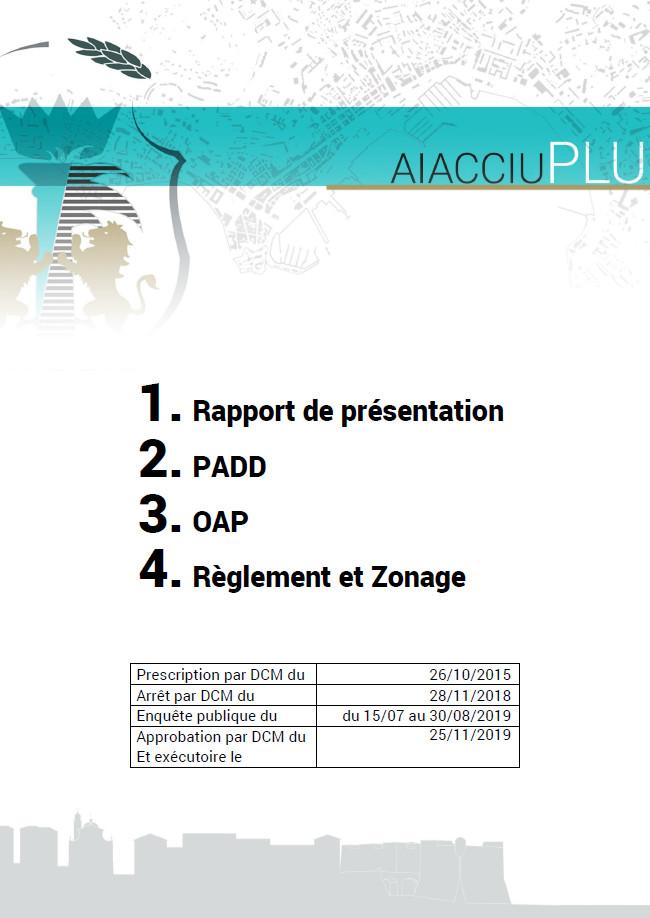 Approbation du PLU d'Ajaccio
