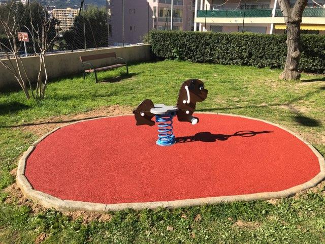 Action de proximité, rénovation de l'aire de jeux du Finosello